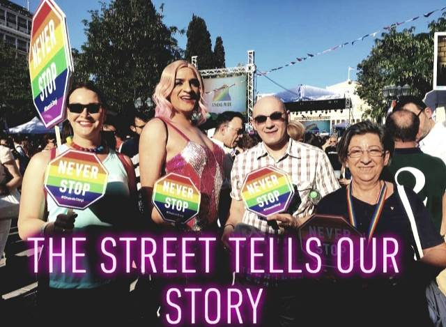 Athens Pride 2019 The street tells our story